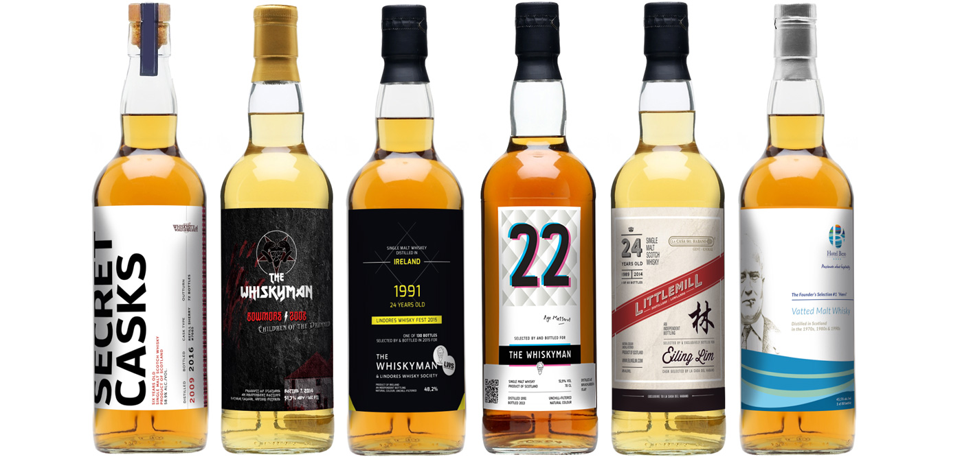 Grafisch ontwerp Whisky labels - Foto 1